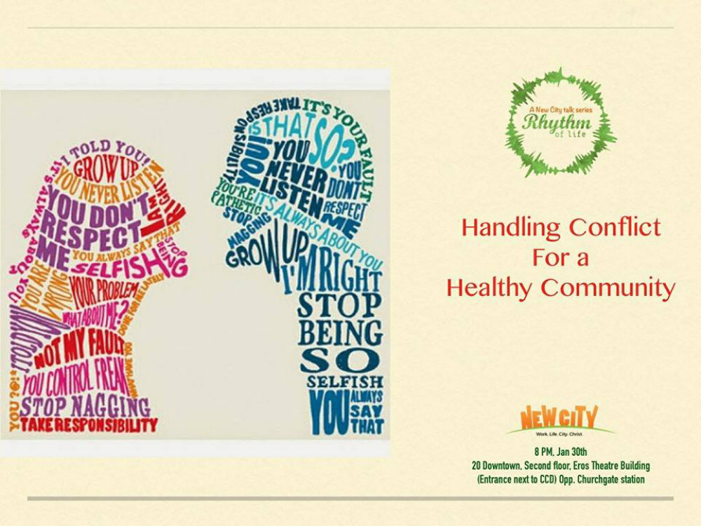 Handling Conflict for a Healthy Community Image