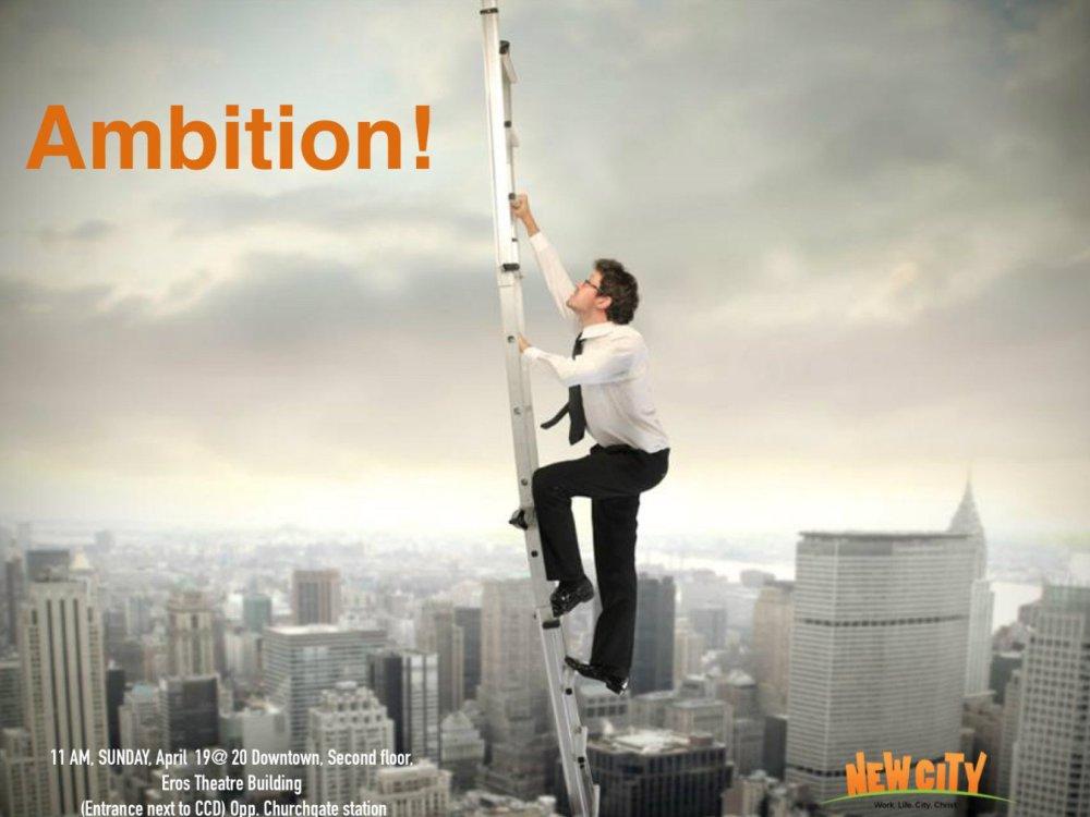Ambition - Abhishek Jebaraj Image