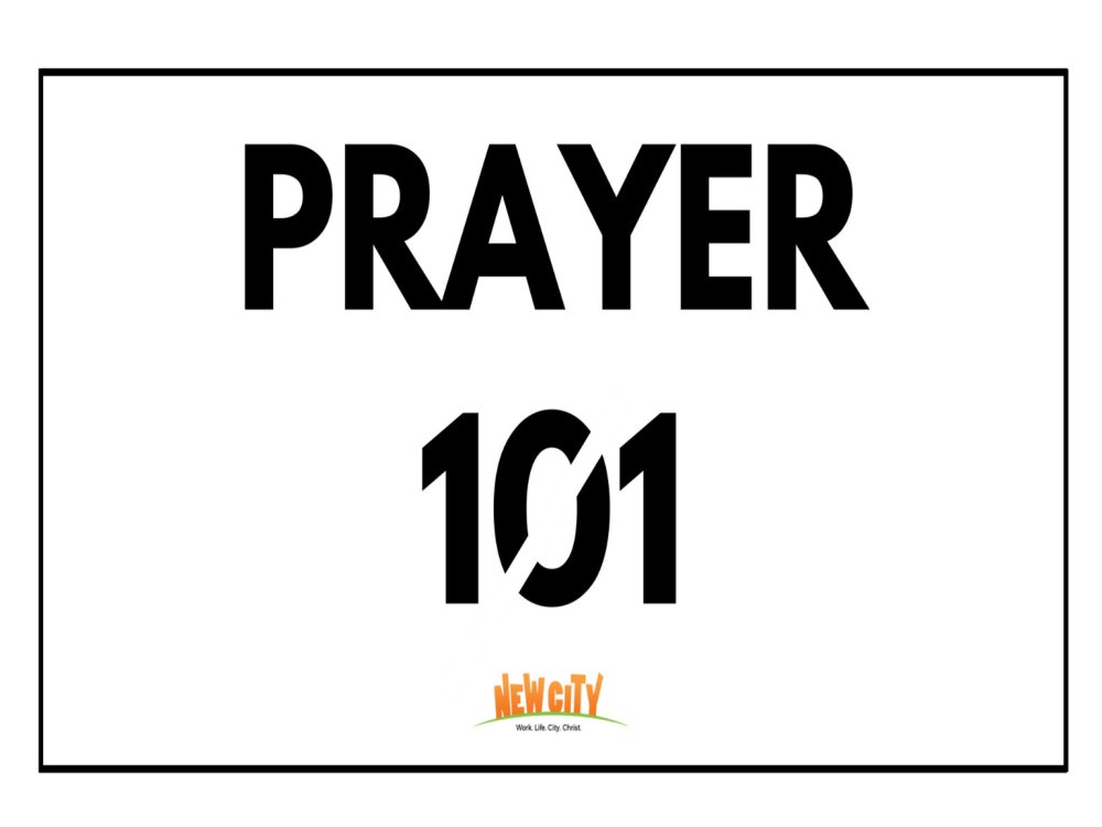 Prayer 101 Image