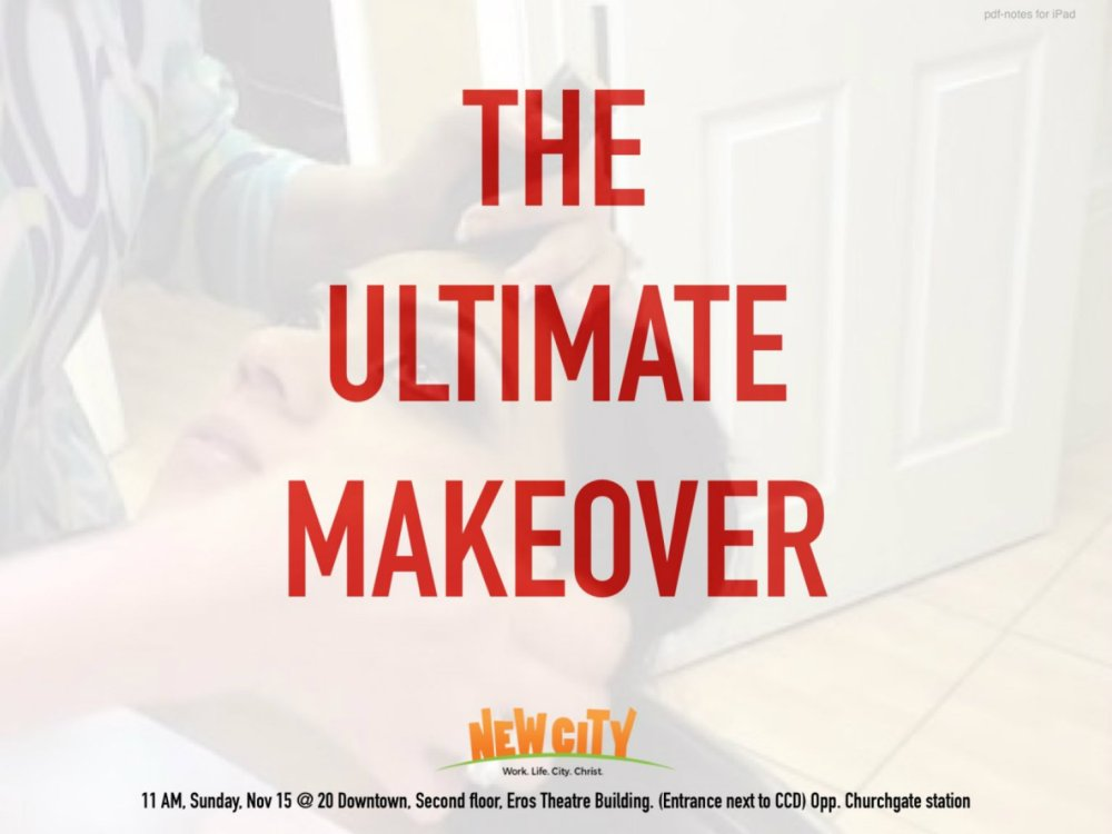 The Ultimate Makeover - Ajitha Anand Image