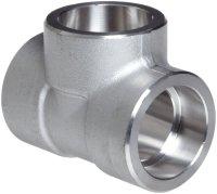 Stainless Steel Socket Weld Tee  NEWCORE GLOBAL PVT. LTD