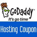 GoDaddy Hosting Coupon for just $1.00/mo (free domain)