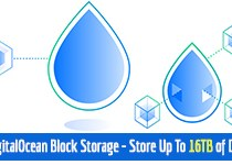 DigitalOcean Block Storage – Store Up To 16tb of Data