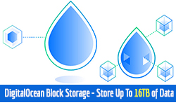 DigitalOcean Block Storage – Store Up To 16tb of Data