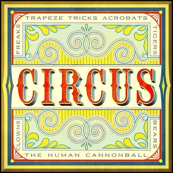 10 Vintage Circus Font Images - Carnival Circus Fonts, Carnival