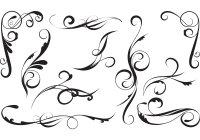 16 Elegant Swirl Vector Images - Elegant Swirl Designs ...