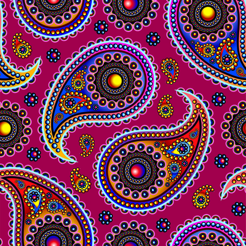 18 Paisley Designs Free Download Images - Free Paisley Vector