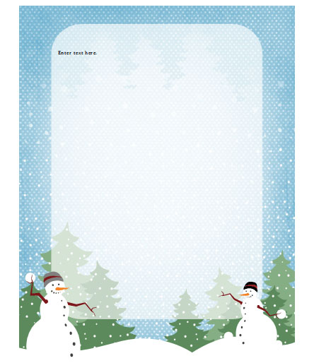 holiday template word - Funfpandroid