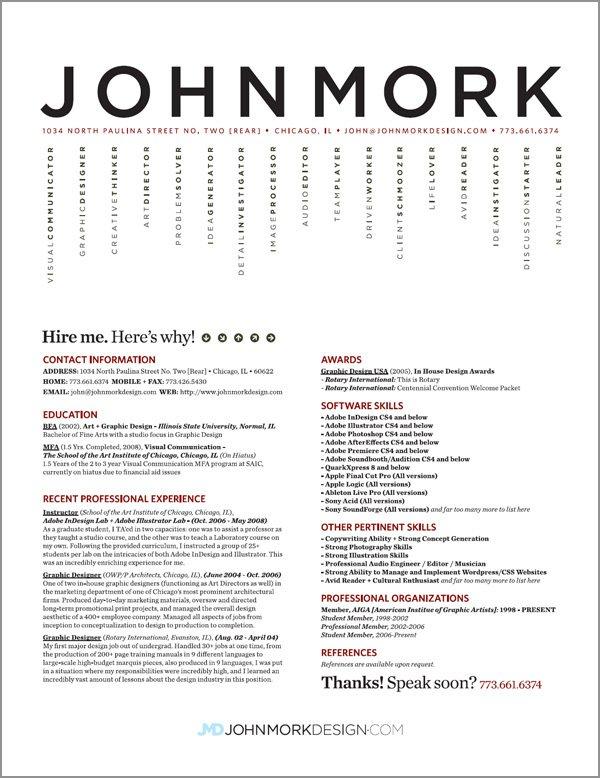 13 Best Resume Designs Images - Best Professional Resume Design