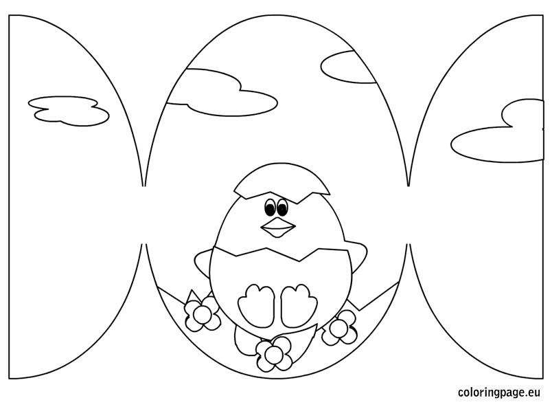 9 Free Easter Card Templates Images - Printable Easter Card