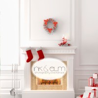 18 Fireplace Photography Backdrop Images - Christmas ...