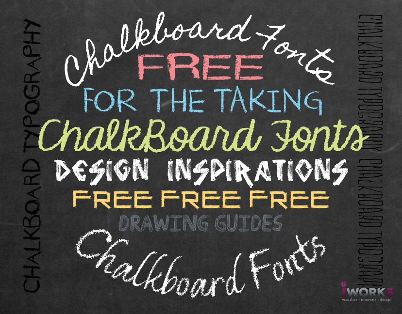 11 Chalkboard Text Font Images - Free Chalkboard Fonts, Chalkboard