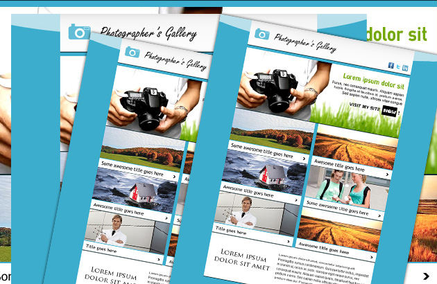 12 Free Psd Newsletter Template Images Free Publisher