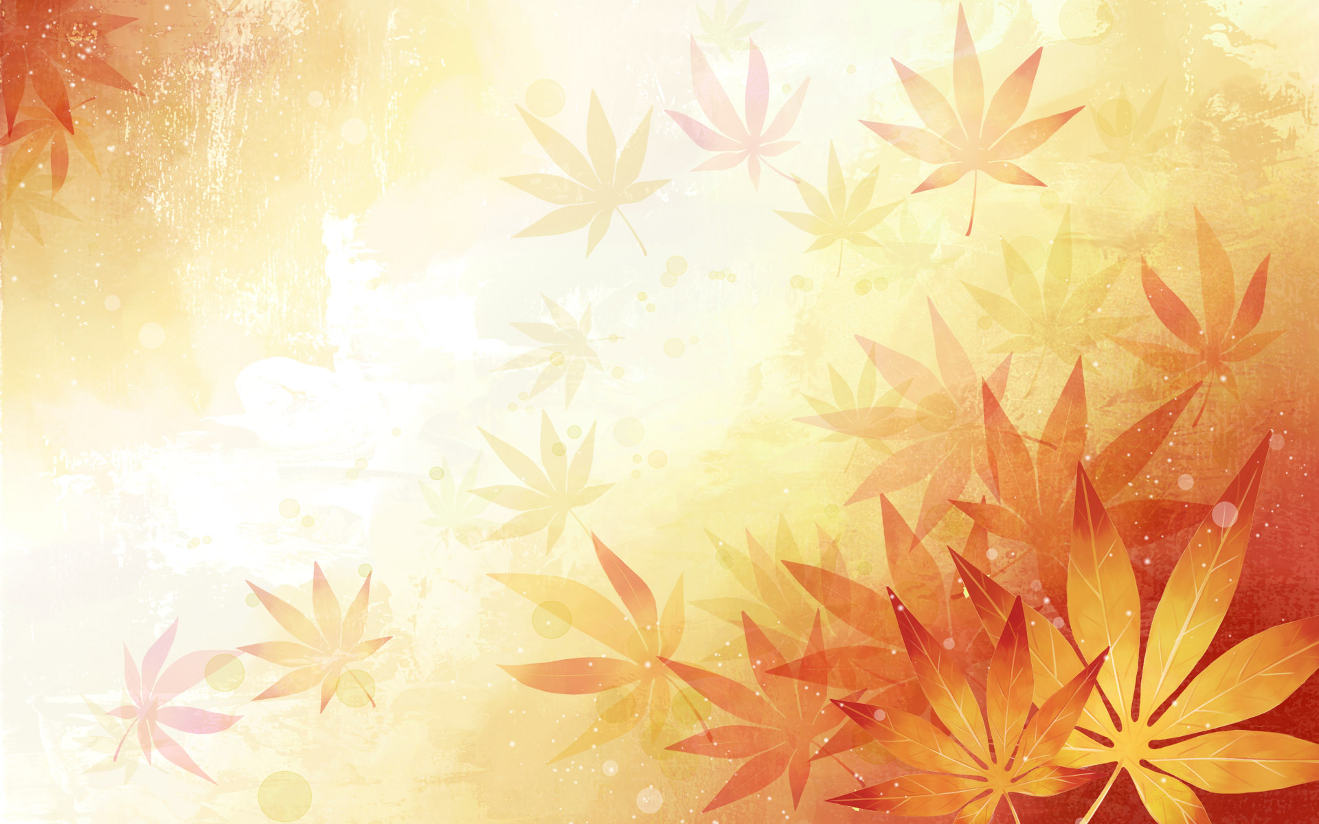 Fall Leaves Clip Art Wallpaper 12 Autumn Flower Vector Background Images Abstract