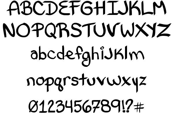 16 Letter Fonts And Styles Images - Letter Styles Fonts, Alphabet