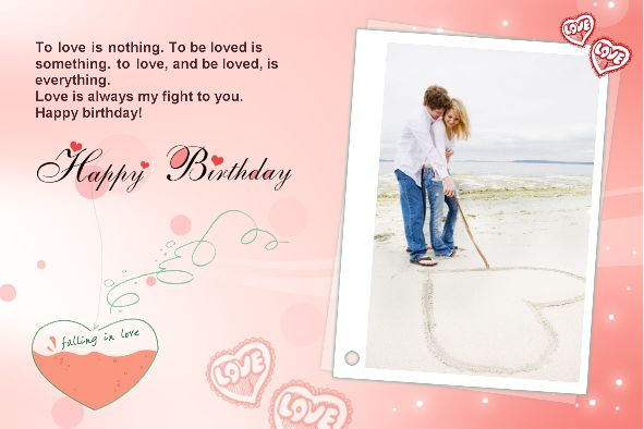 13 PSD Template For Birthday Card Images - Happy Birthday Card