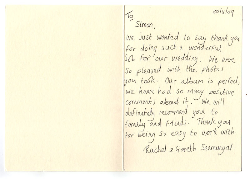 Wedding Thank You Note Examples Wedding Thank You Card Wording