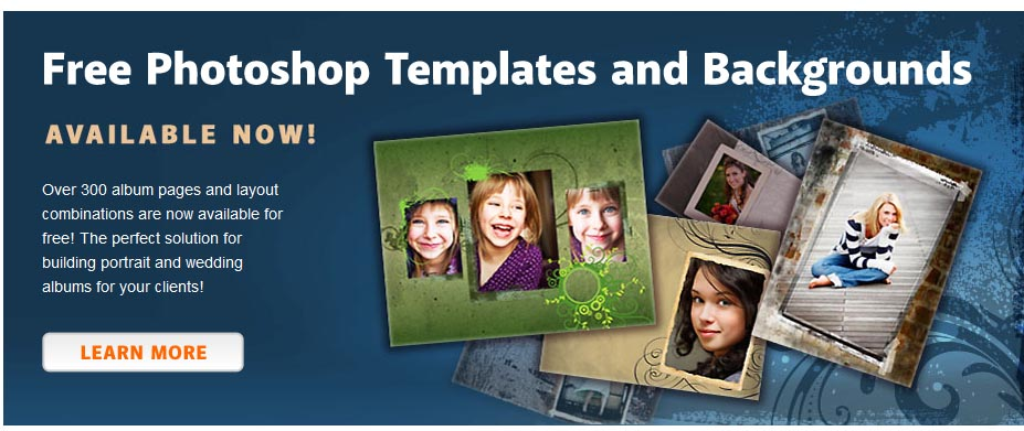 16 Free PSD Templates For Scrapbooking Images - Free Scrapbook Page - free album templates