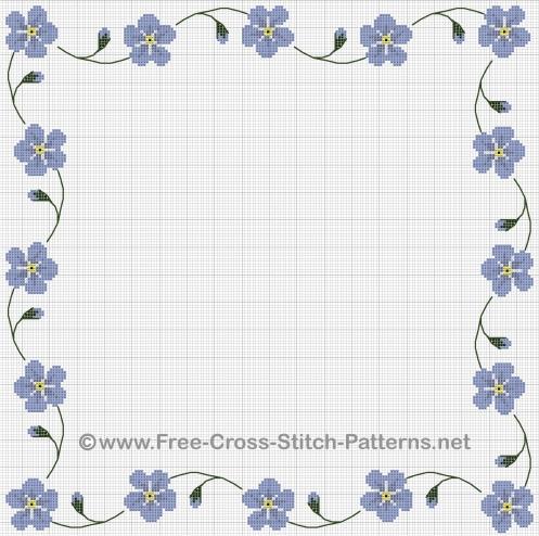 11 Cross- Border Designs Images - Free Cross Stitch Patterns Borders