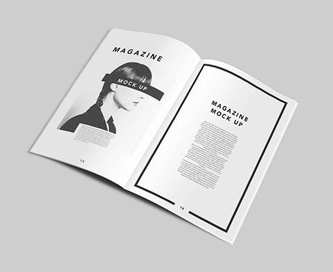 11 PSD Photoshop Magazine Template Images - Free Photoshop Magazine