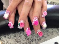 15 3D Duck Feet Nails Designs Images - Duck Feet Acrylic ...