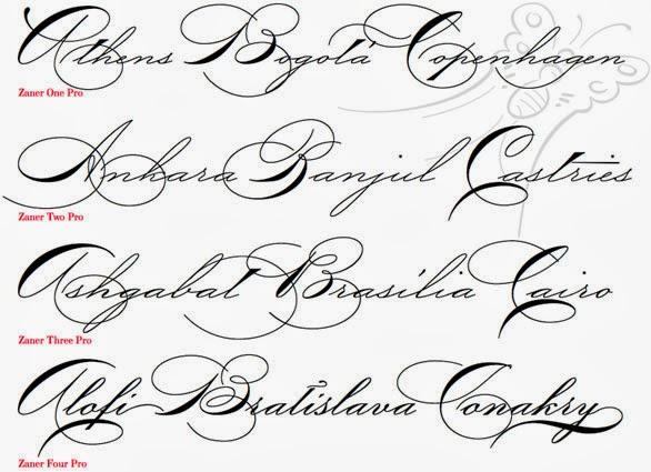 16 Fancy Cursive Handwriting Font Images - Fancy Cursive Fonts