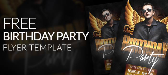 20 Adult Party Flyer PSD Images - Photoshop PSD, Birthday Party