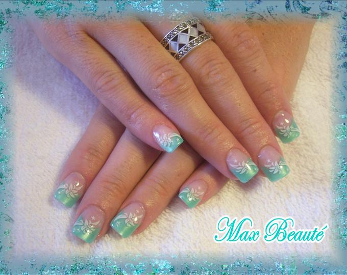 15 Turquoise Color Nail Designs Images Turquoise Nail
