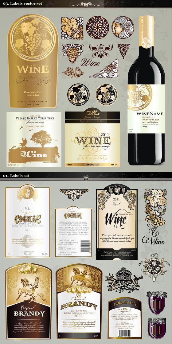 Free Wine Label Template madebyrichard