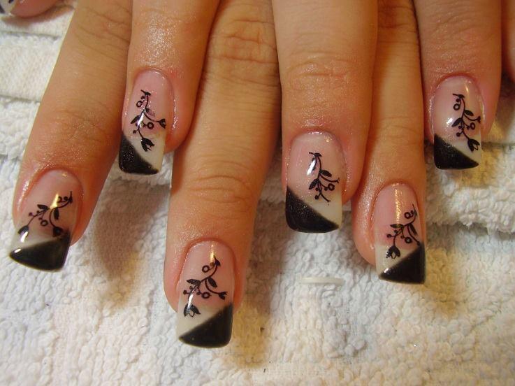 Beautiful 16 New Nail Designs 2015 Images 2015 New Year Nail Art