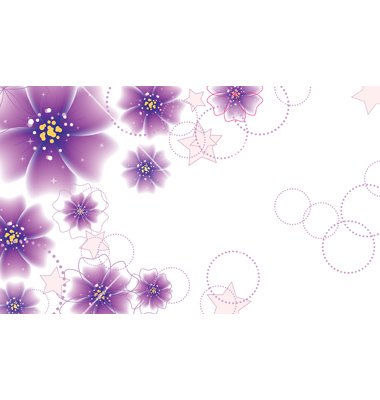 14 Purple Flower Vector Graphics Images - Free Graphic Vector Swirls