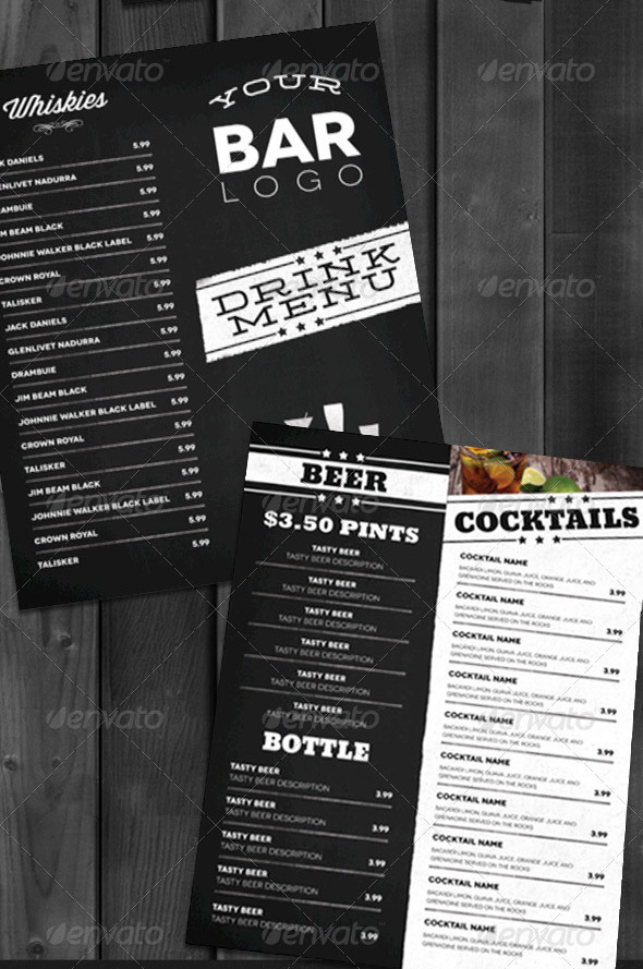 Snack Bar Menu Template | Sample Customer Service Resume
