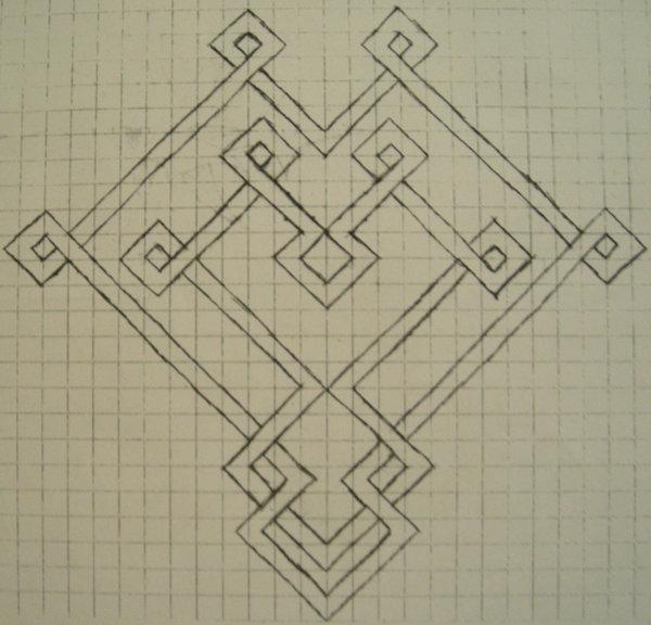 17 Graph Paper Art Designs Images - Cool Graph Paper Art Designs