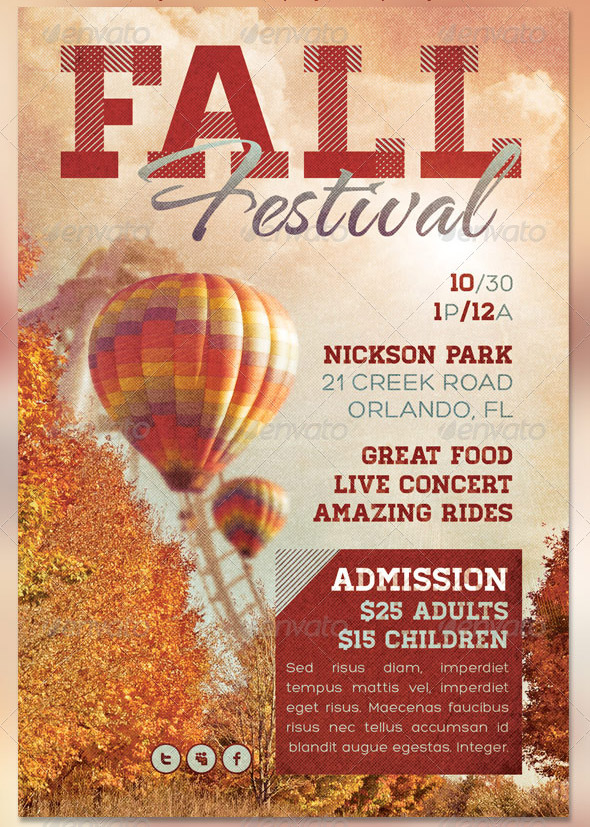 church fall festival flyer templates - Josemulinohouse - fall festival flyer ideas