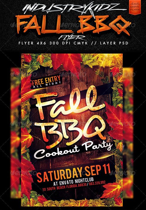 19 Free Fall Festival Flyer Template PSD Images - Fall Festival - fall festival flyer ideas
