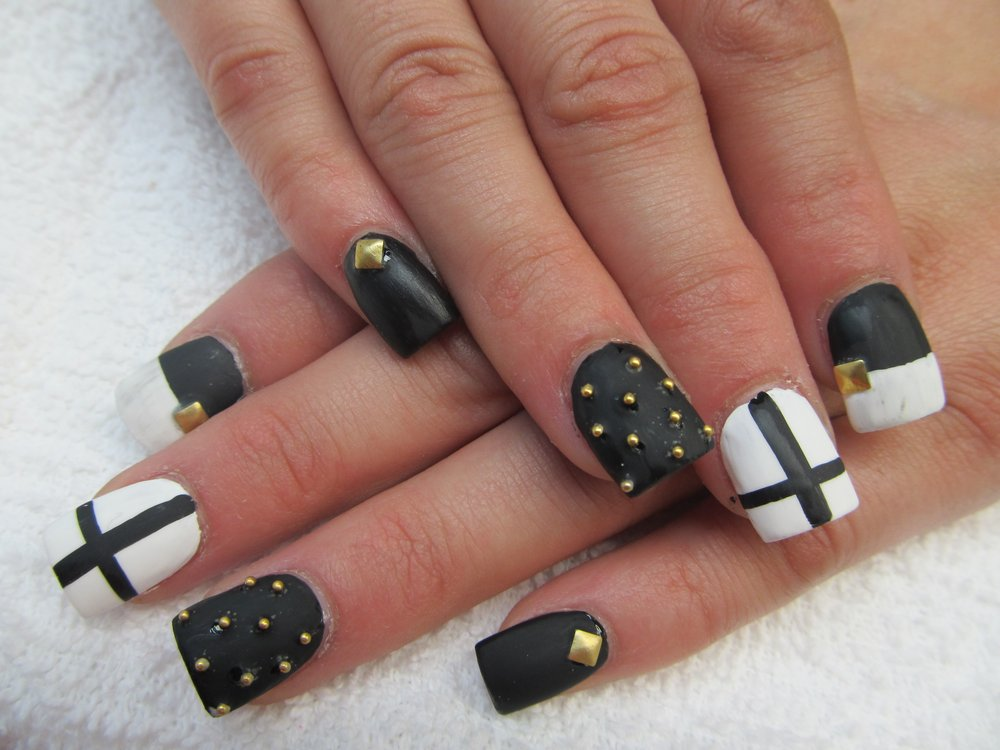 11 Cross Nail Designs Images Nail Designs With Crosses