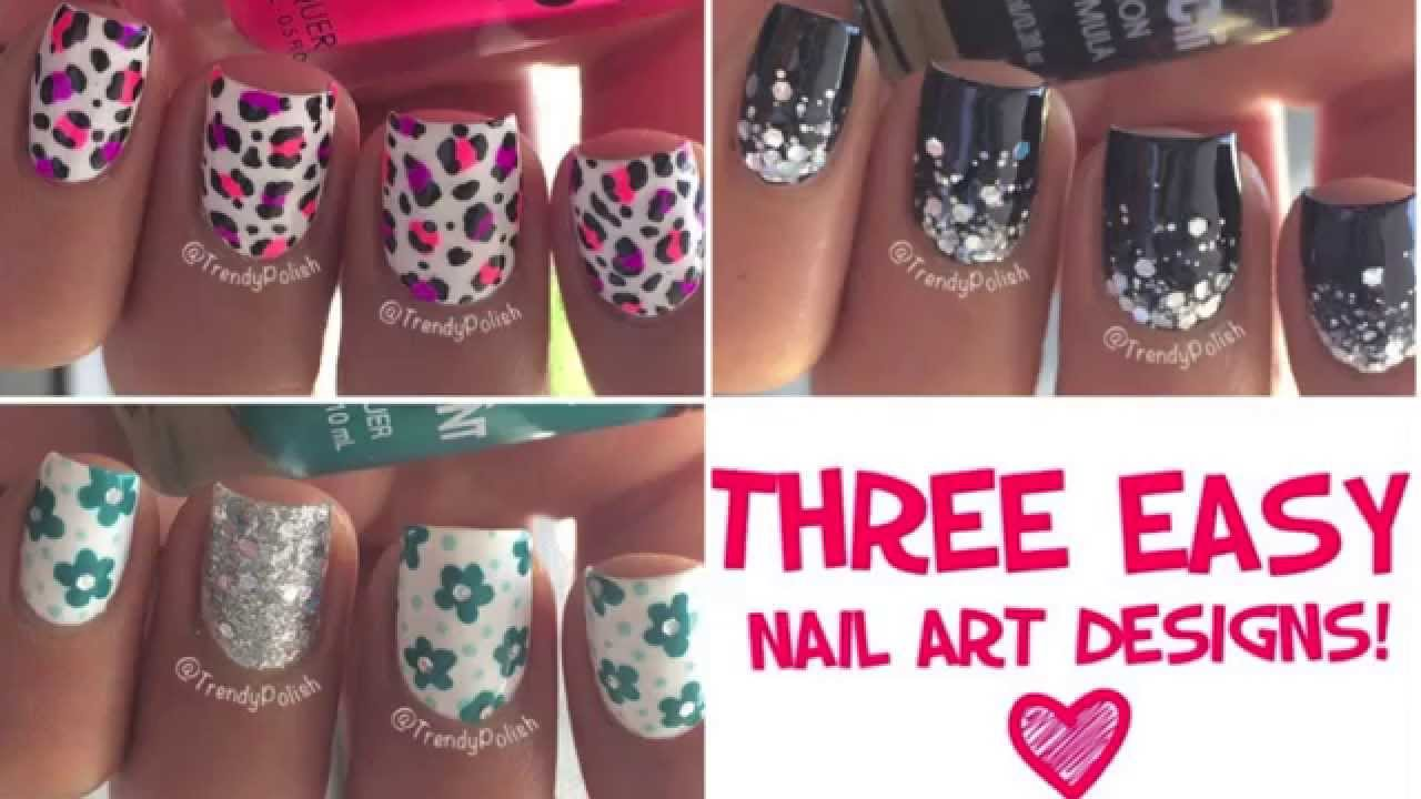 Amazing 10 Toothpick Nail Art Designs Images Easy Nail Designs With