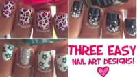 10 Toothpick Nail Art Designs Images - Easy Nail Designs ...