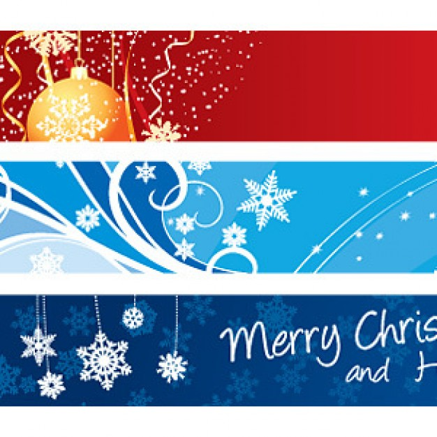 15 Christmas Banner Free Vector Downloads Images - Free Christmas