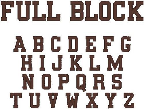 11 Fancy Font Number Block Images - Birthday Number Applique Designs