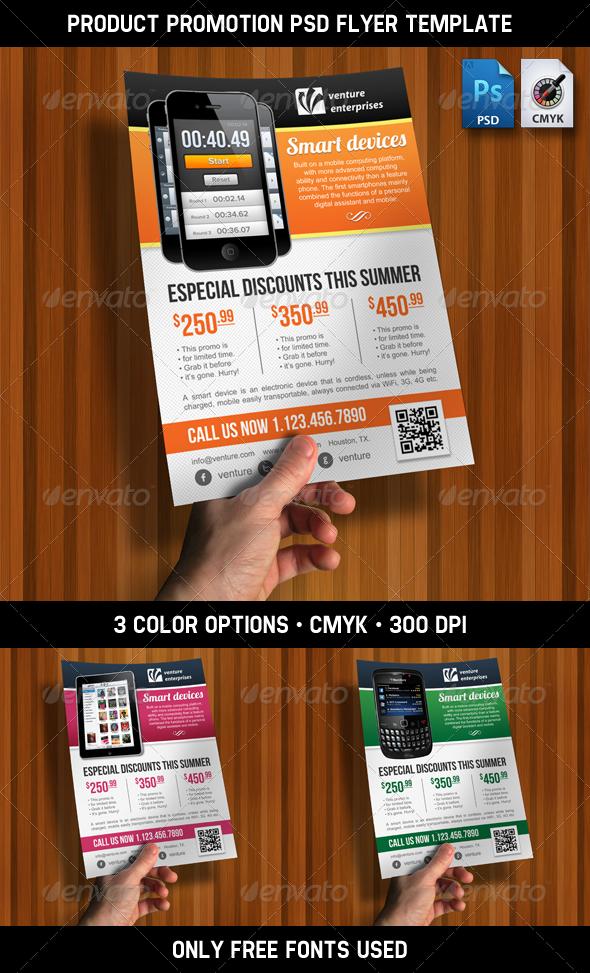13 Promotion Flyer PSD Images - Opening Promotional Flyer Design