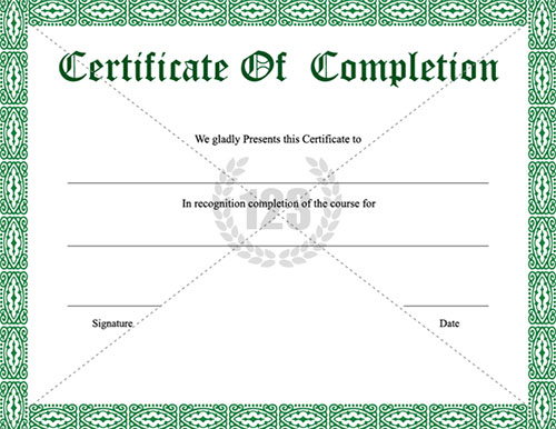 Top Result 61 Lovely Certificate Of Appearance Template Photography