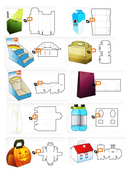 7 Product Packaging Design Templates Images - Product Packaging