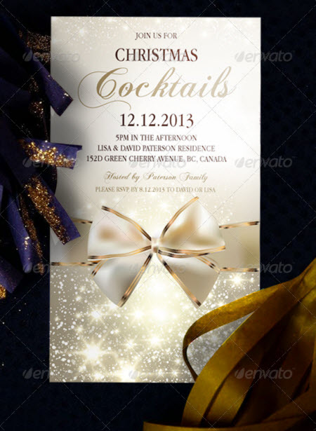 Christmas Party Invitation Free Download – Christmas Party Invitation Templates Free Download