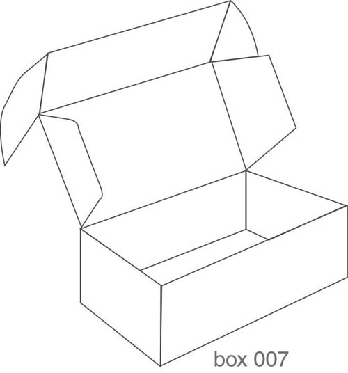 13 Packaging Box Design Templates Images - Box Packaging Design