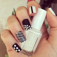 14 New Nail Polish Designs Images - Black Nail Polish ...