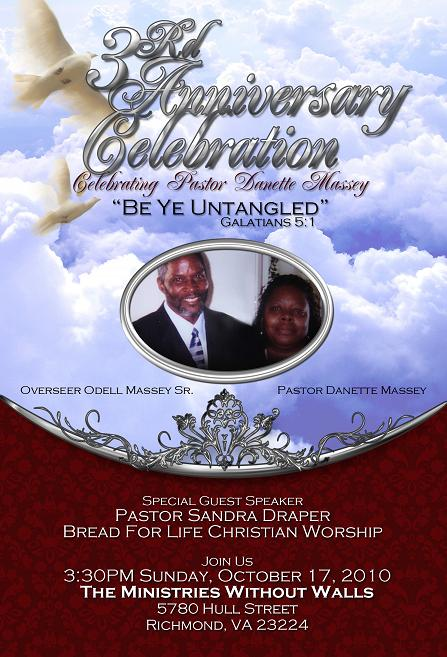 17 Pastoral Anniversary Flyer Templates Images - Church Anniversary