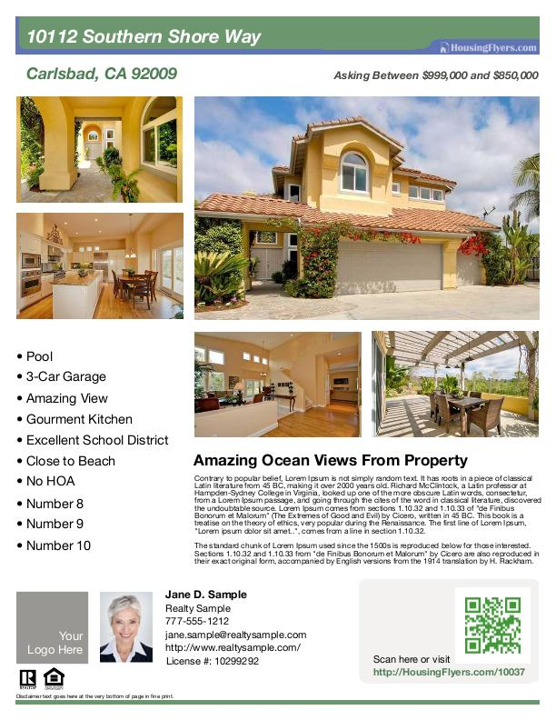9 Home For Rent Flyer Free PSD Images - Free Real Estate Brochure