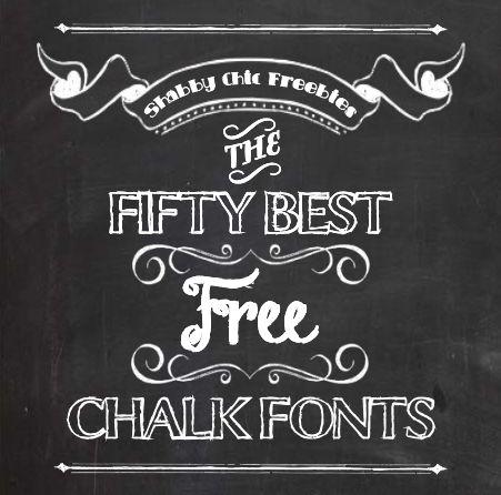 7 10 Free Chalkboard Fonts Images - Free Chalkboard Fonts, Chalk