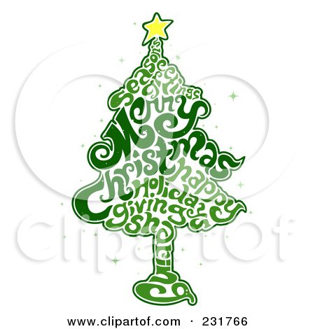 20 Words Christmas Trees Free Graphics Images - Christmas Tree Word - christmas tree words